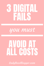 3 Digital Fails You Need To Avoid