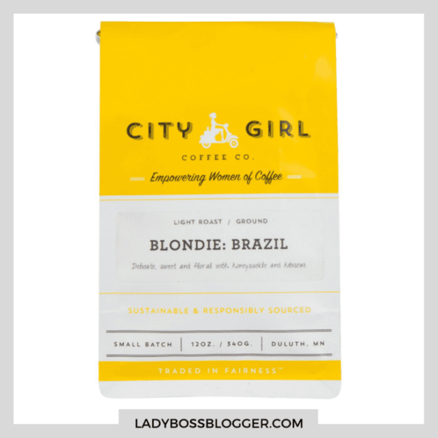 city girl blonde coffee ladybossblogger