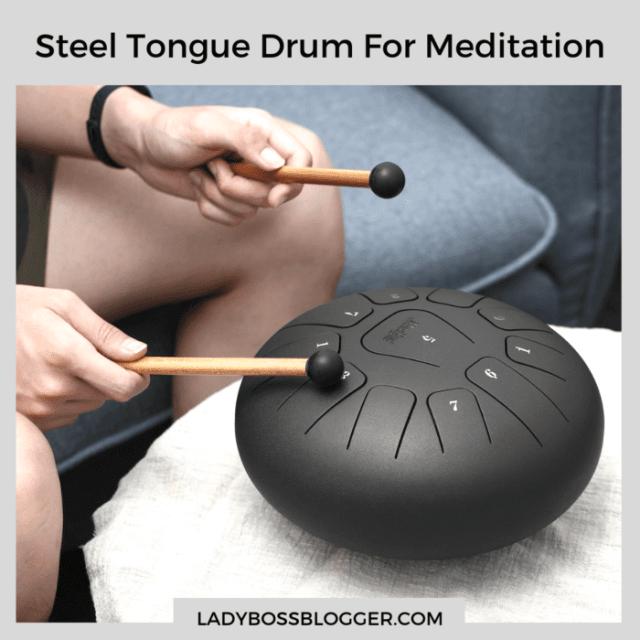 steel tongue drum for meditation ladybossblogger