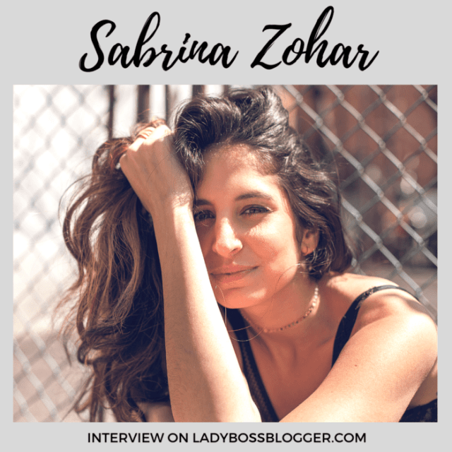 Sabrina Zohar interview on ladybossblogger