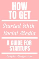 startup social media guide