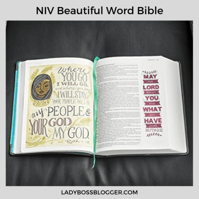 NIV word bible ladybossblogger
