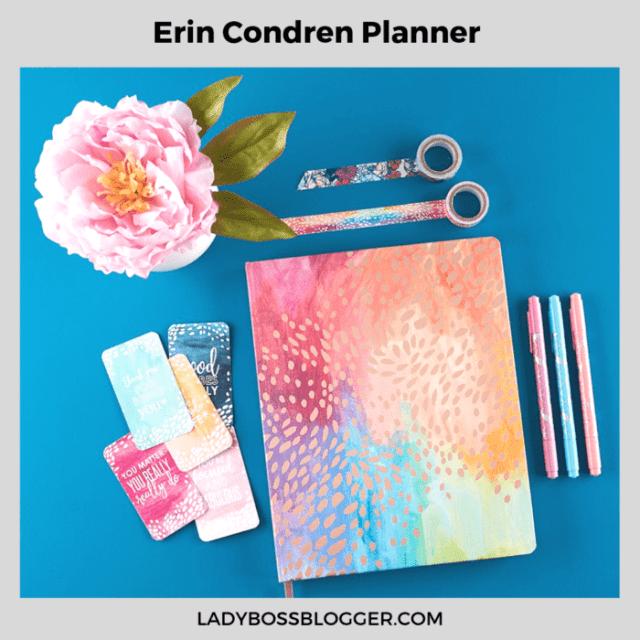 Erin Condren Planner ladybossblogger