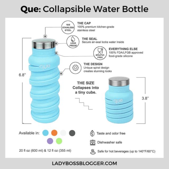 que water bottle ladybossblogger