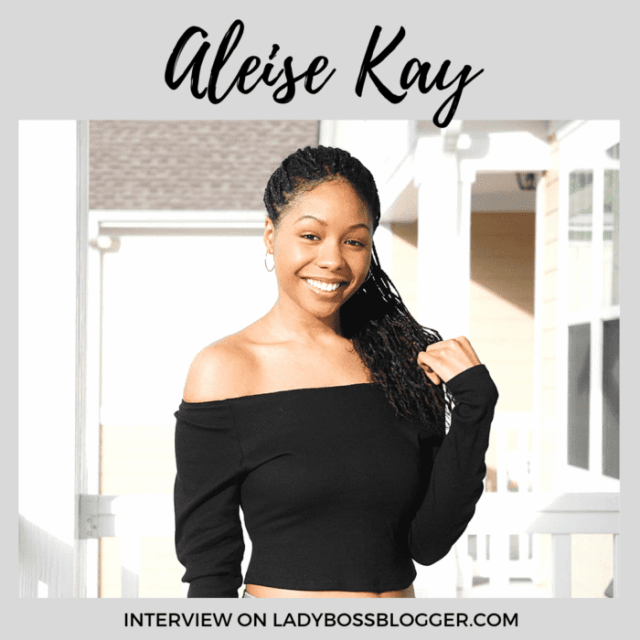 Aleise Kay interview on ladybossblogger