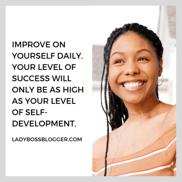 Aleise Kay entrepreneur advice on ladybossblogger