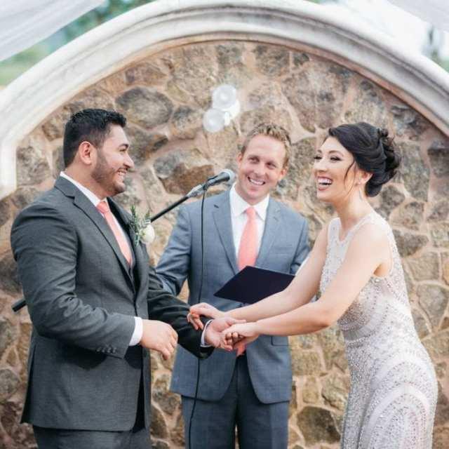 elaine and oscar wedding