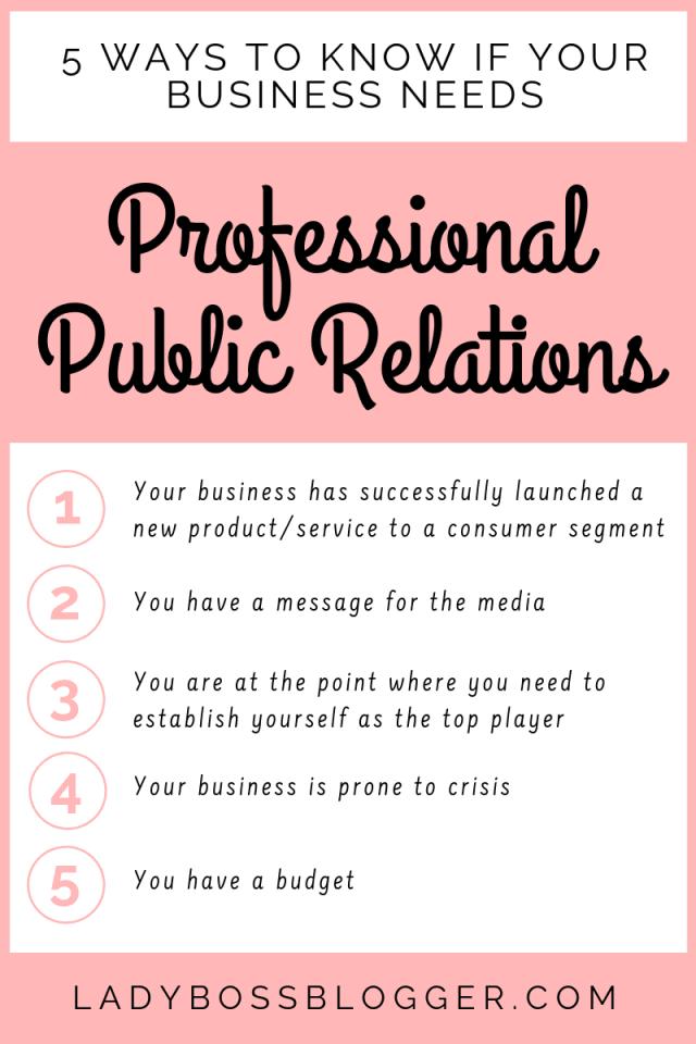 Professional Public Relations LadyBossBlogger.com (1)