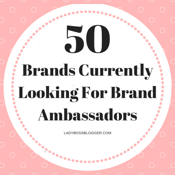 companies with brand ambassador programs clothing companies looking for ambassadors