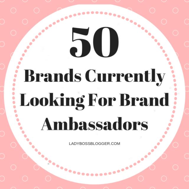 brand ambassadors ladybossblogger