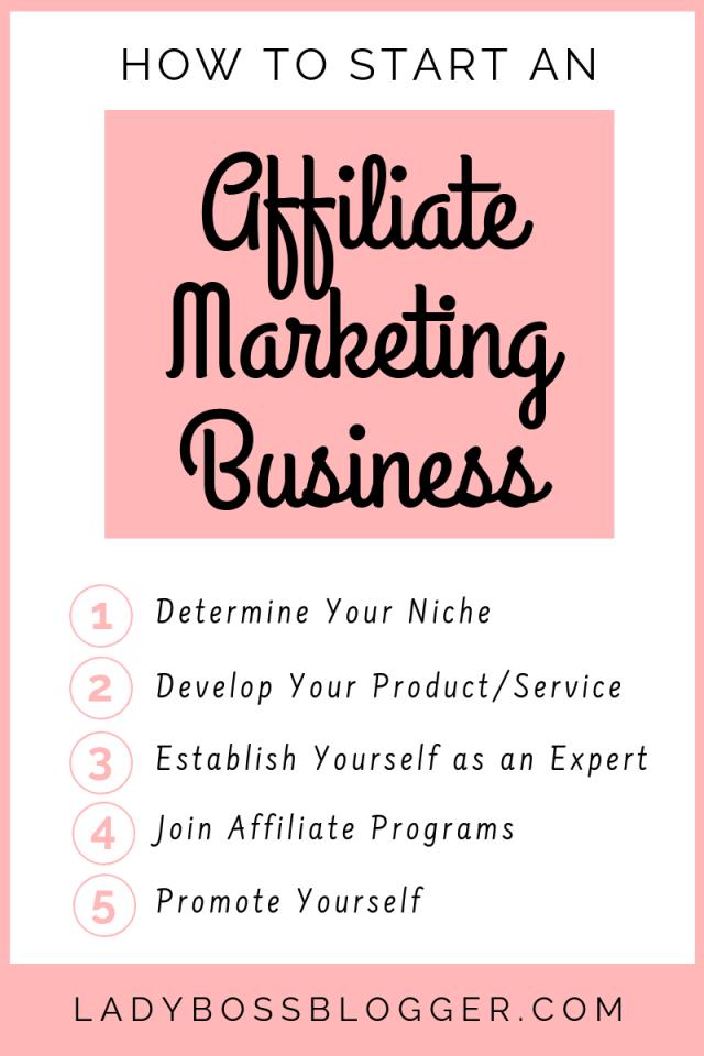 Affiliate Marketing Business LadyBossBlogger.com