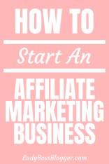 Affiliate Marketing Business1 ladybossblogger