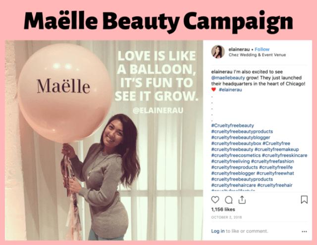 Beauty event with influencer and blogger Elaine Rau