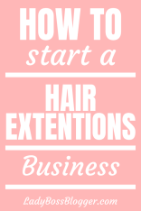 How To Start A Hair Extensions Business