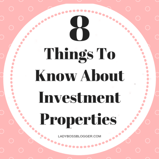 Investment properties LadyBossBlogger.com