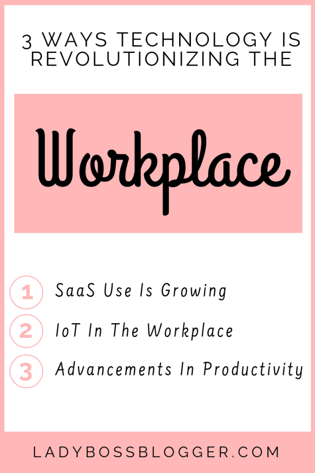 Technology in workplace LadyBossBlogger.com