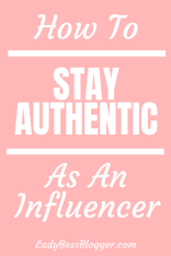 authentic influencer ladybossblogger