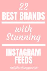 Stunning Instagram Feeds