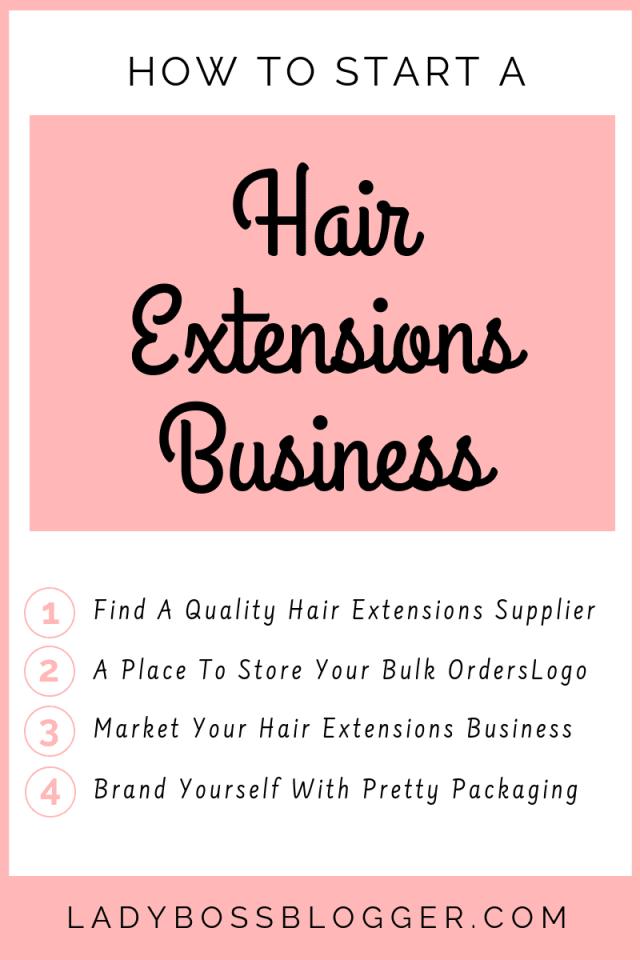 hair extentions business LadyBossBlogger.com