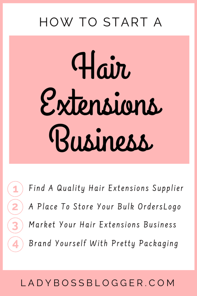 hair extentions business LadyBossBlogger.com