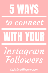 Instagram Followers ladybossblogger