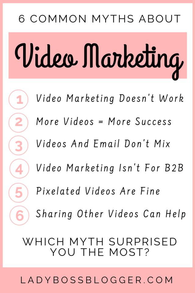 video marketing LadyBossBlogger.com