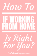 working from home ladybossblogger