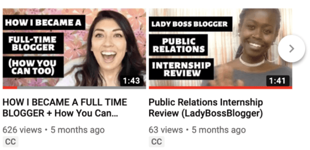 youtube ladybossblogger channel