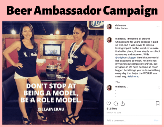 brand ambassador promotion elaine rau ladybossblogger