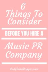 music PR company