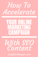 Online Marketing Campaign