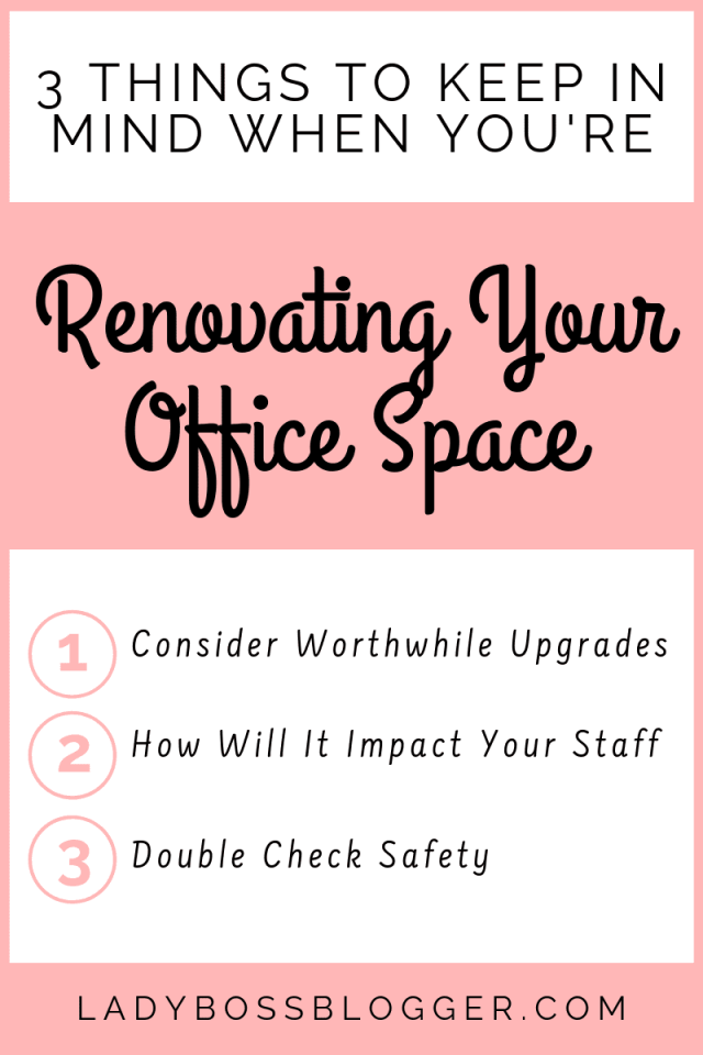 Renovating Office Space ladybossblogger