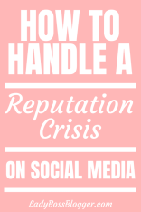 Reputation Crisis On Social Media
