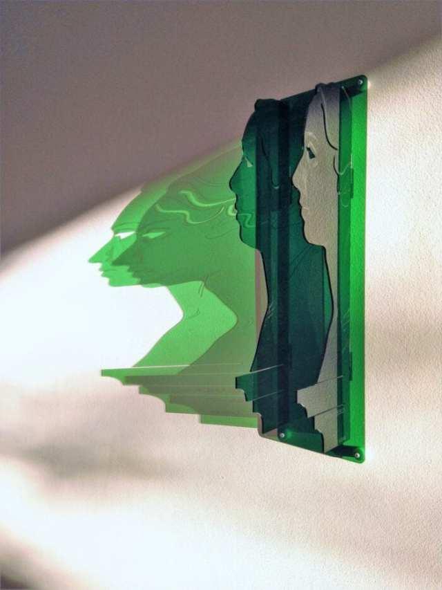 Acrylic Glass Perspective Wall Art