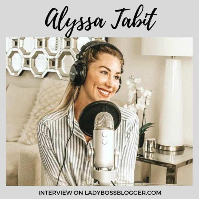 Alyssa Tabit interview on ladybossblogger.