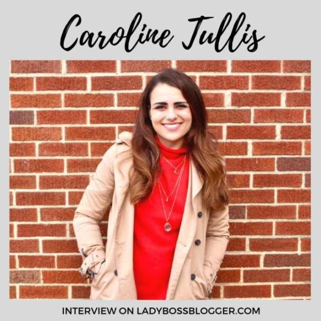 Caroline Tullis interview ladybossblogger