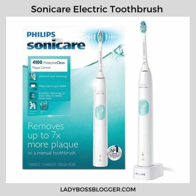 sonic electronic toothbrush