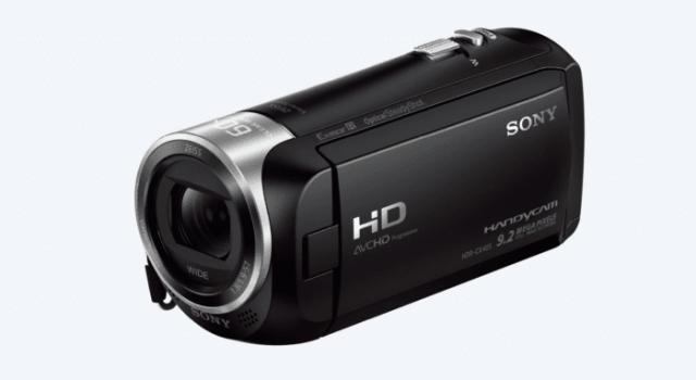 Sony HDRCX405 Handycam cameras ladybossblogger.com