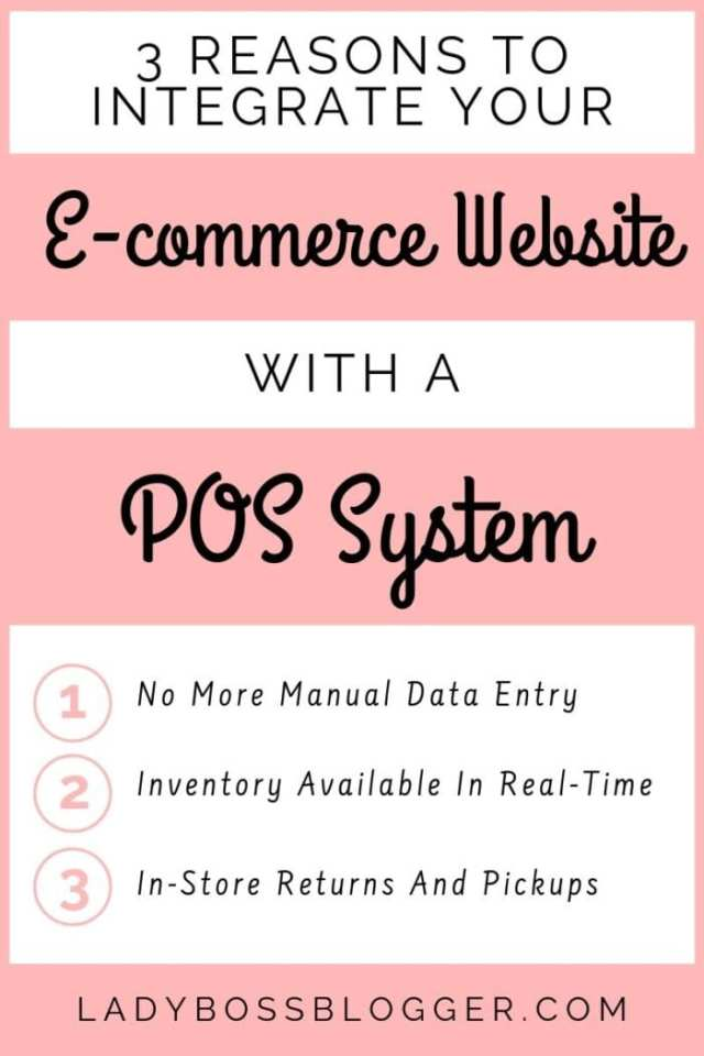 E-commerce Website With A POS System