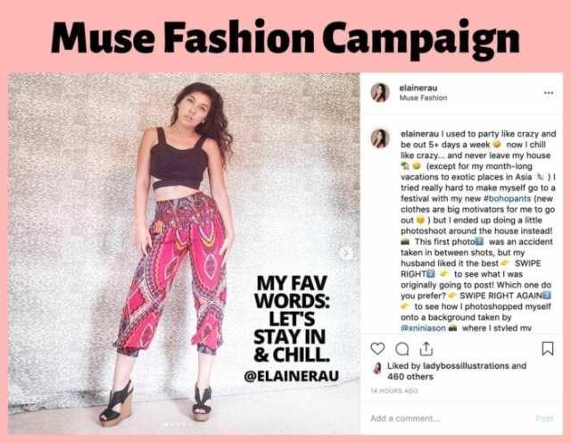 elaine rau influencer campaign ladybossblogger 1