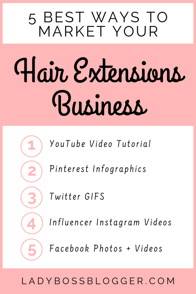 market Hair Extensions Business ladybossblogger