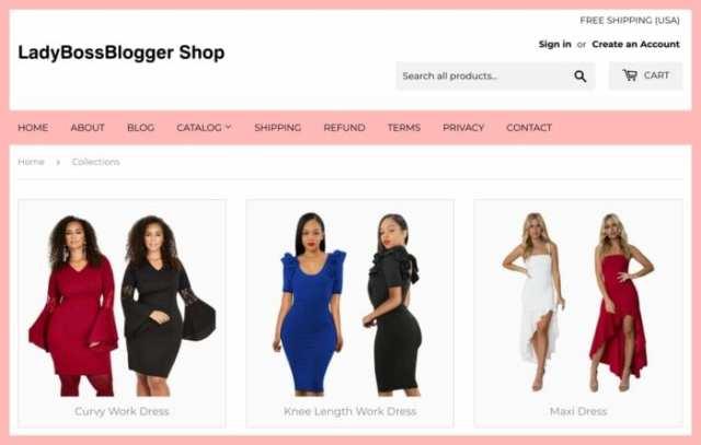 LadyBossBloggerShop.com