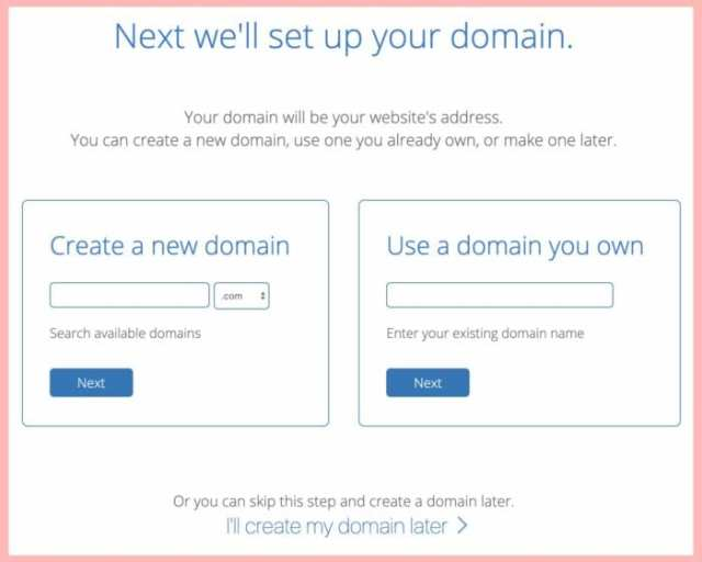 set up your domain blog host ladybossblogger