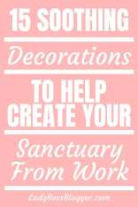 soothing decorations from etsy ladybossblogger