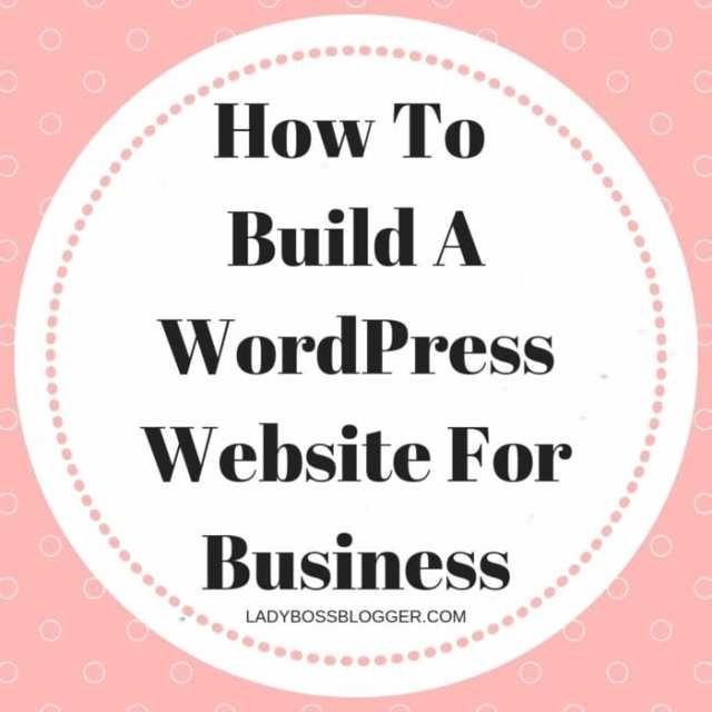 WordPress Website For Business