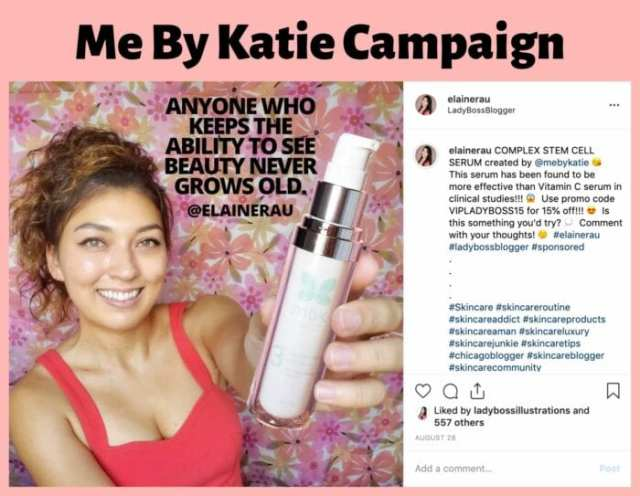 elaine rau influencer campaign ladybossblogger 5