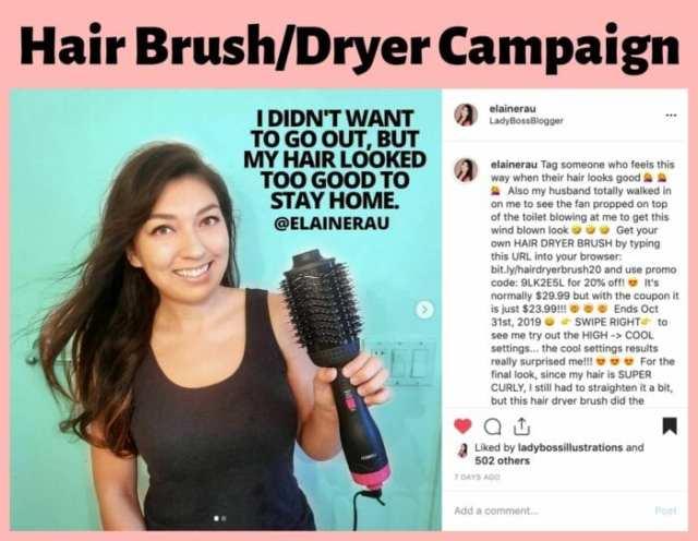 influencer campaign with elaine rau ladybossblogger 5