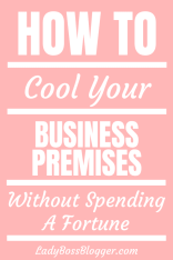 How To Cool Your Business Premises Without Spending A Fortune