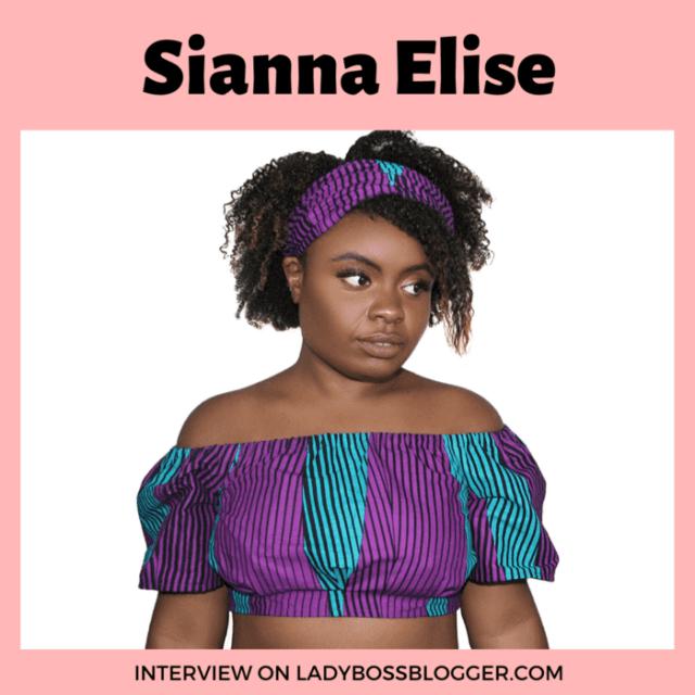 Sianna Elise ladybossblogger interview1