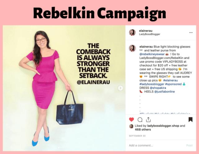 elaine rau influencer campaign successful12
